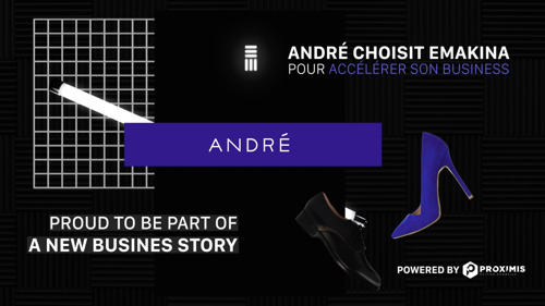 André choisit Emakina pour accélérer sa transformation digitale