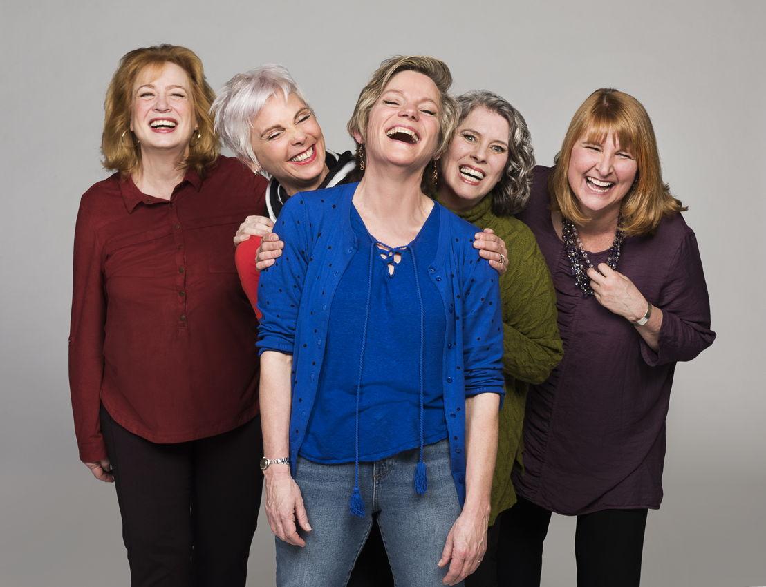 Barbara Pollard, Jill Daum, Robin Nichol, Alison Kelly & Deborah Williams / Photo by Emily Cooper