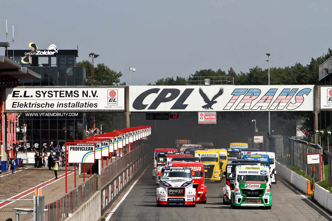 DKV organise sa journée de la famille lors du FIA Truck Grand Prix