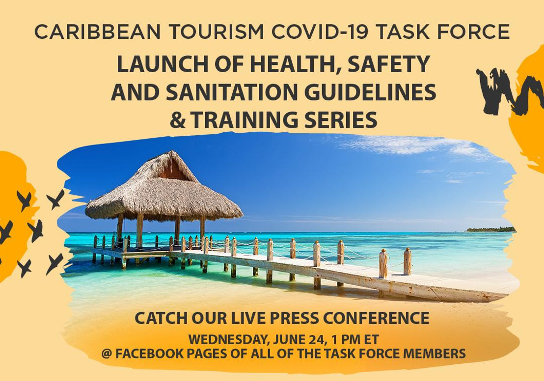 [MEDIA ALERT] Launch of Caribbean Health Safety and Sanitation Guidelines & Training Series
