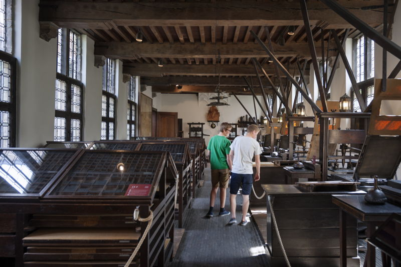 Oldest printing presses of the world, photo: Ans Brys, Museum Plantin-Moretus