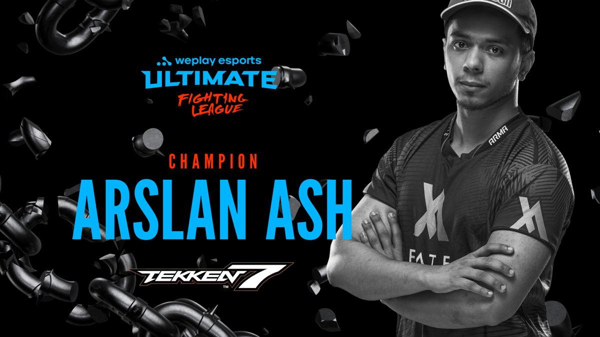 Победитель соревнования WePlay Ultimate Fighting League Season 1 по Tekken 7. Изображение: WePlay Esports
