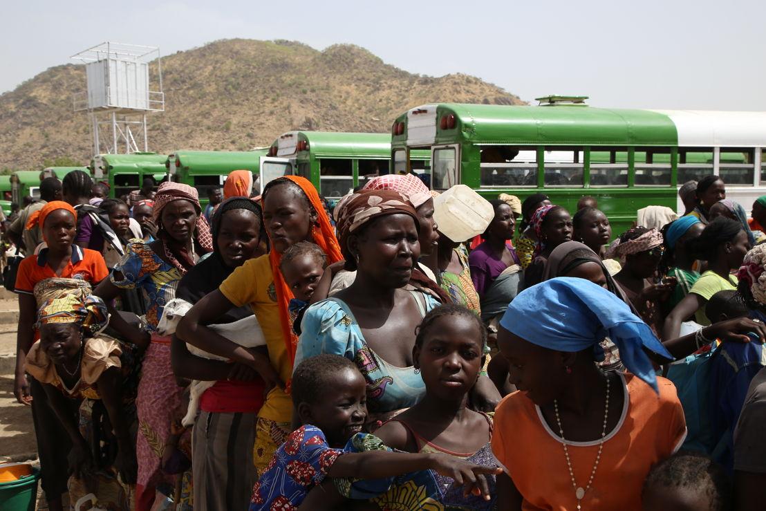 분쟁을 피해 나이지리아를 떠나 카메룬으로 피난 갔던 난민들이 다시 나이지리아로 강제<br/> 송환됐다. [Igor Barbero/MSF]