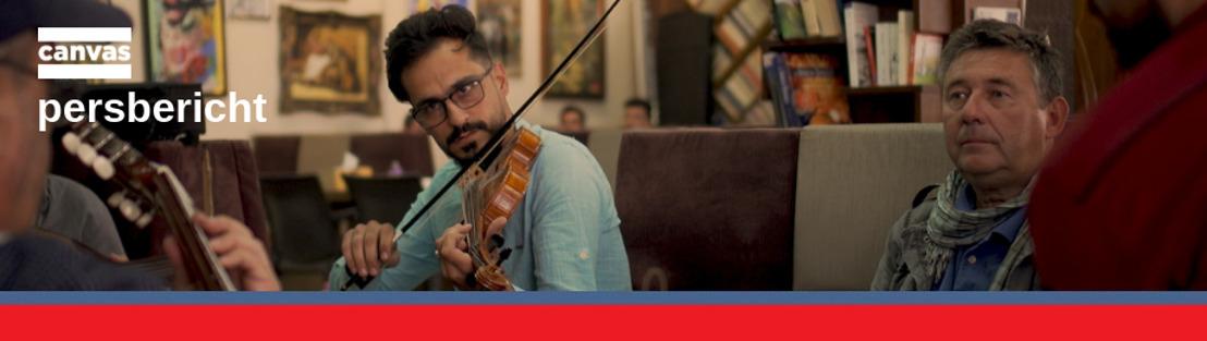Video Vranckx - Iraakse muzikant zingt Mia van Gorki