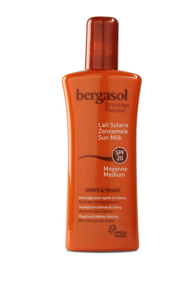 Bergasol spray soleil à partir de €18,95