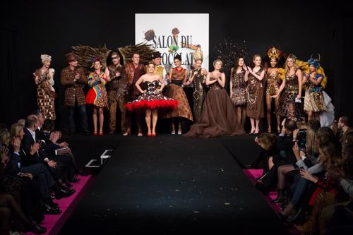 Fashion show Salon du Chocolat - pictures high definition