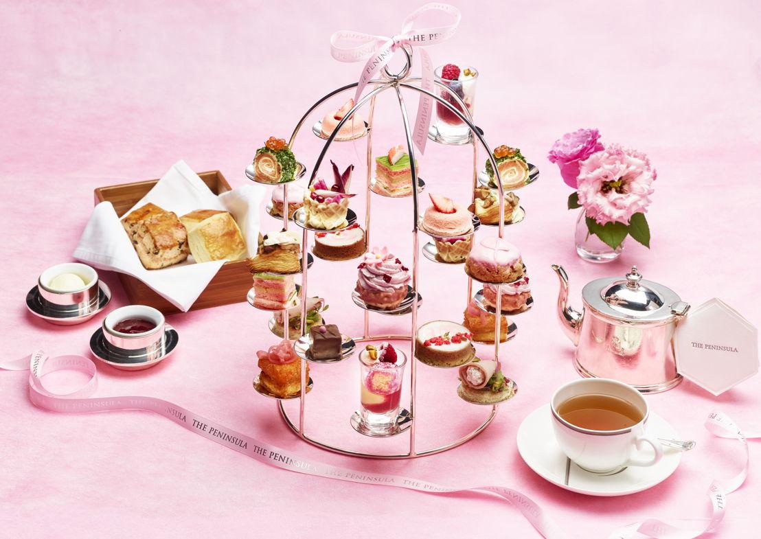 Pink Afternoon Tea en The Lobby