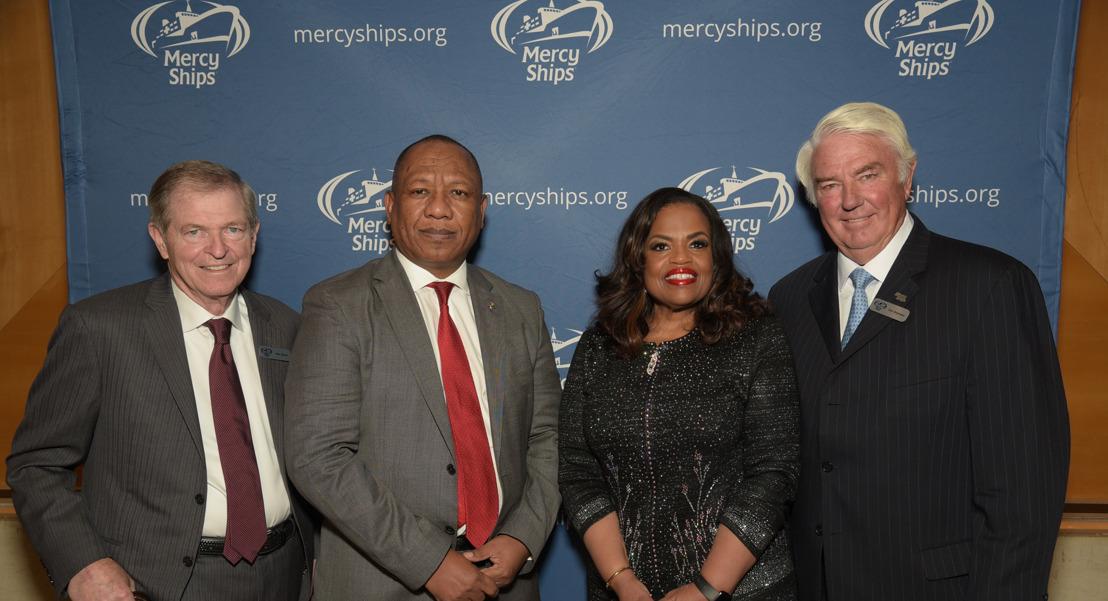 Mercy Ships bringt viele afrikanische Präsidenten und CEOs zusammen