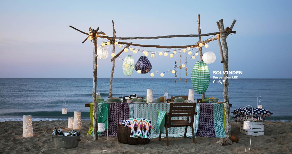 Rêver aux beaux jours d'été avec la collection bohème IKEA SOMMAR 2017