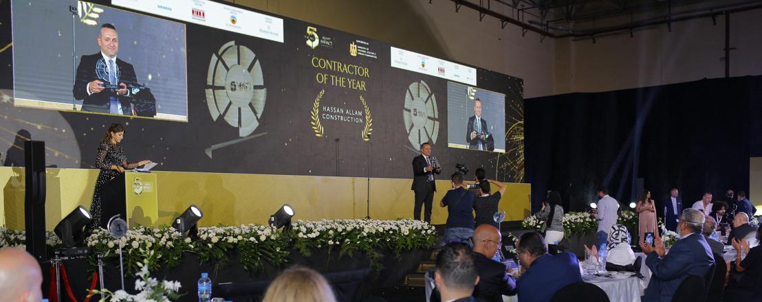 معرض The Big 5 يكرم قادة المشاريع على جهودهم في تعزيز ممارسات البناء المستدام في المنطقة