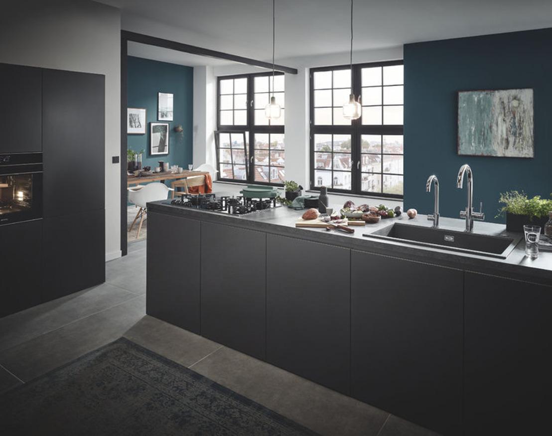 Stijl en design in de keuken: composiet keukenspoelbakken in trendy kleuren
