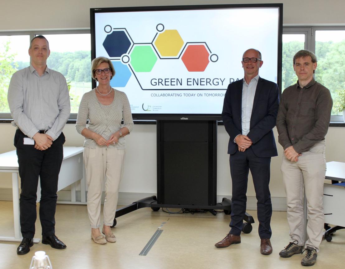 Provincie Vlaams-Brabant steunt innovatief hernieuwbare energieproject Green Energy Park in Zellik