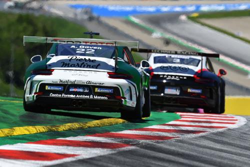 Race, Porsche Mobil 1 Supercup, Round 1, Formula 1 race at Spielberg, Austria