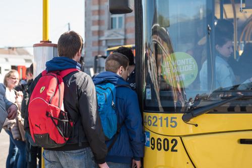 Renforcement des lignes de bus pendant les examens