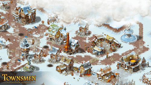 The Dawn of a New Era: Townsmen – A Kingdom Rebuilt announced