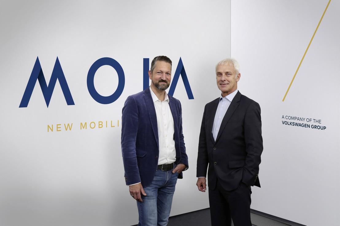 MOIA - la nouvelle société de services de mobilité du Groupe Volkswagen (Mise à jour)