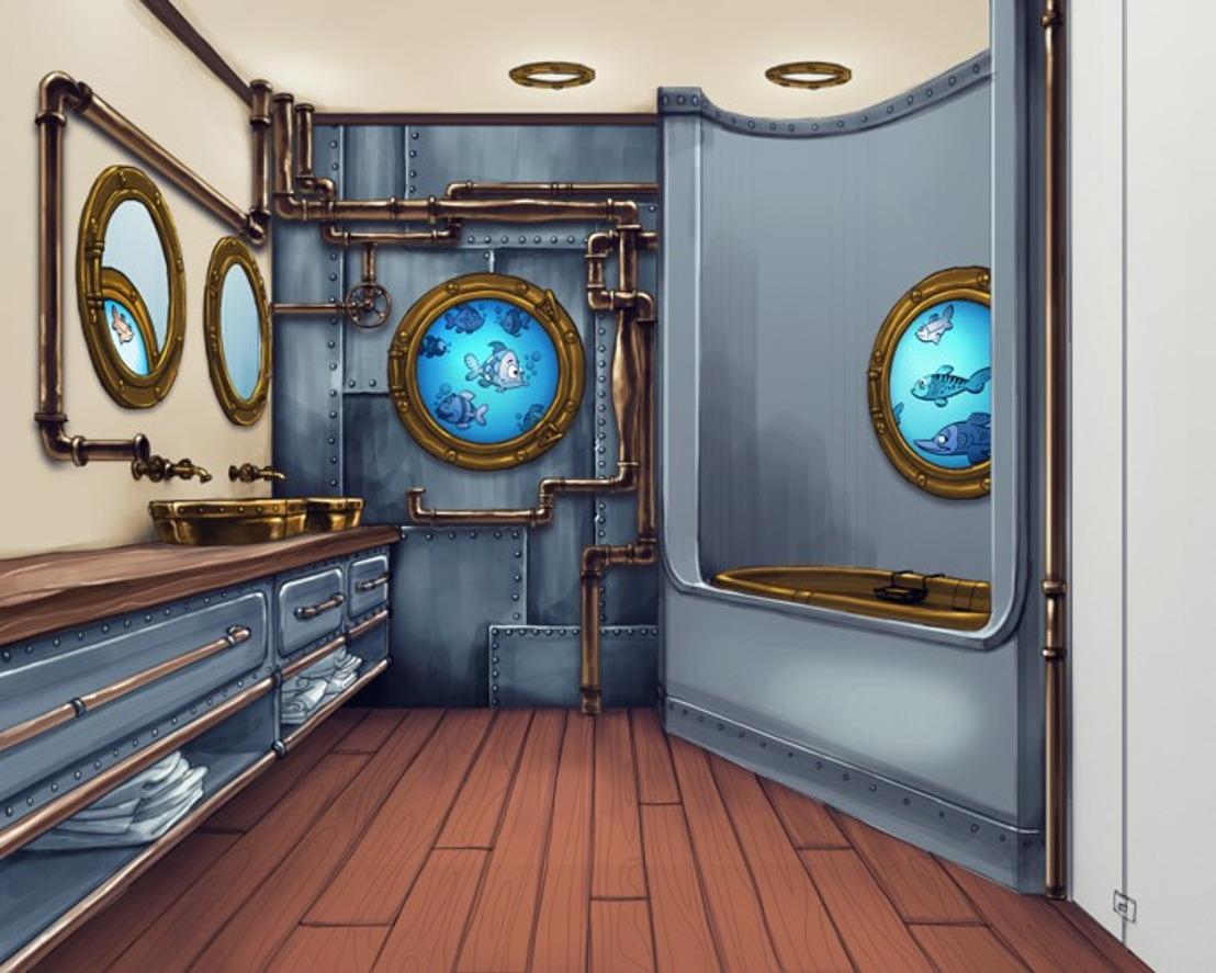 Plopsa conclut un partenariat avec GROHE pour des solutions de salle de bains dans l'Hôtel Plopsa