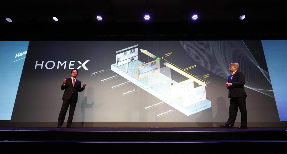 HomeX, la plataforma de administración del hogar inteligente, creada por Panasonic