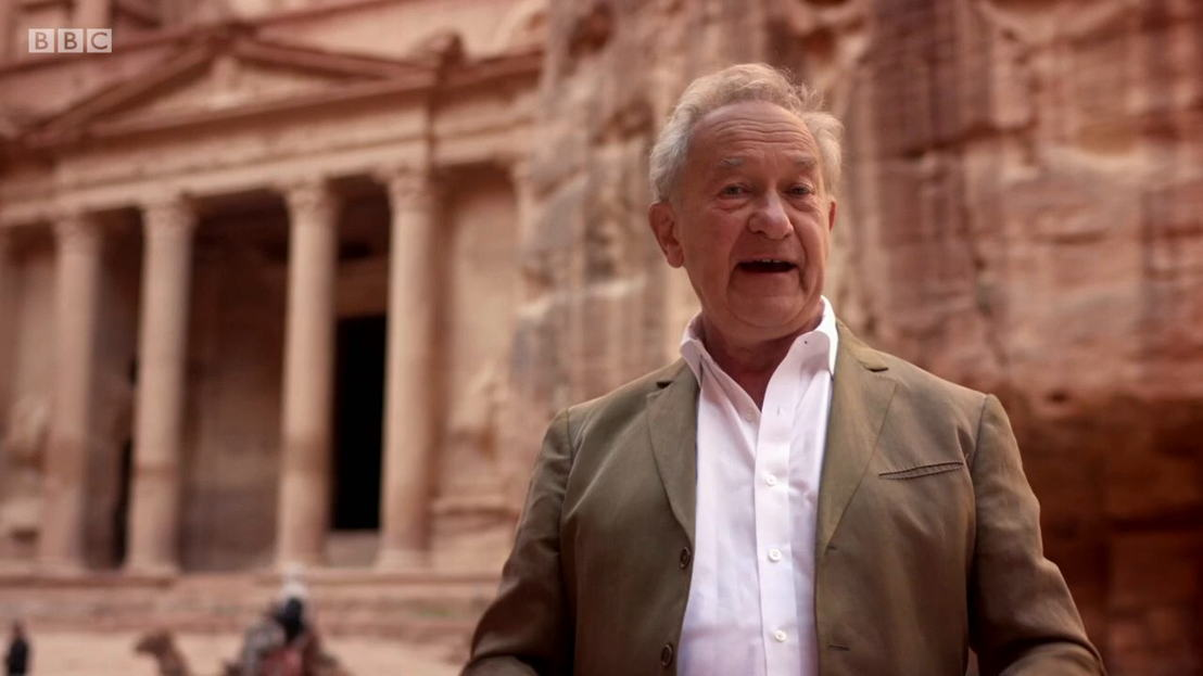 Civilisations - Simon Schama in Petra - (c) BBC