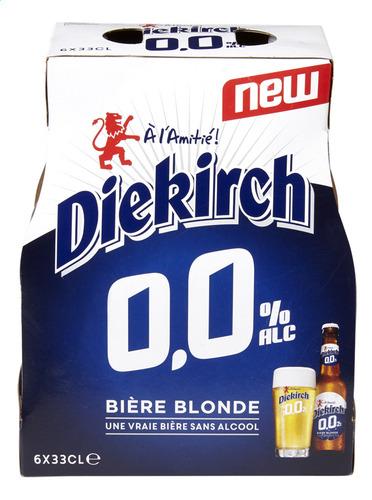 Diekirch lance sa nouvelle bière : 0,0% alcool, zéro compromis