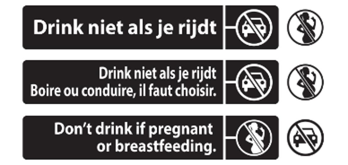 AB InBev voegt voortaan advies voor verantwoord drinken toe op haar bieretiketten