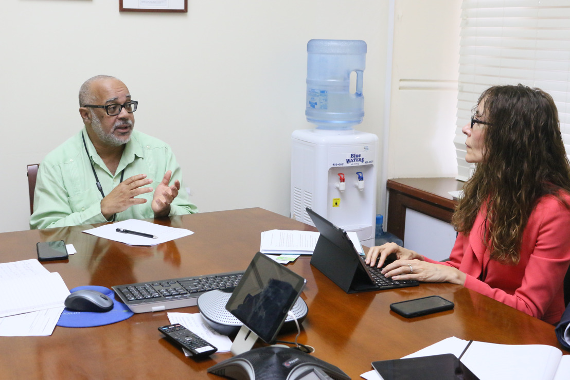 IMF Representatives Pay Courtesy Visit to the OECS Commission