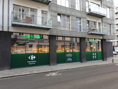 Preview: Carrefour inaugure le premier magasin de l'année en ouvrant un nouvel Express à Ixelles