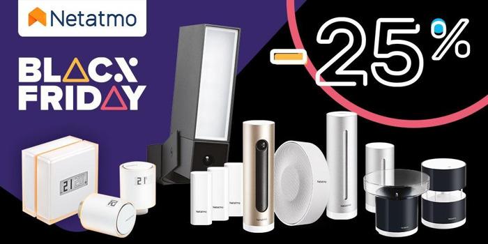 Uitzonderlijke Black Friday aanbiedingen op Netatmo producten