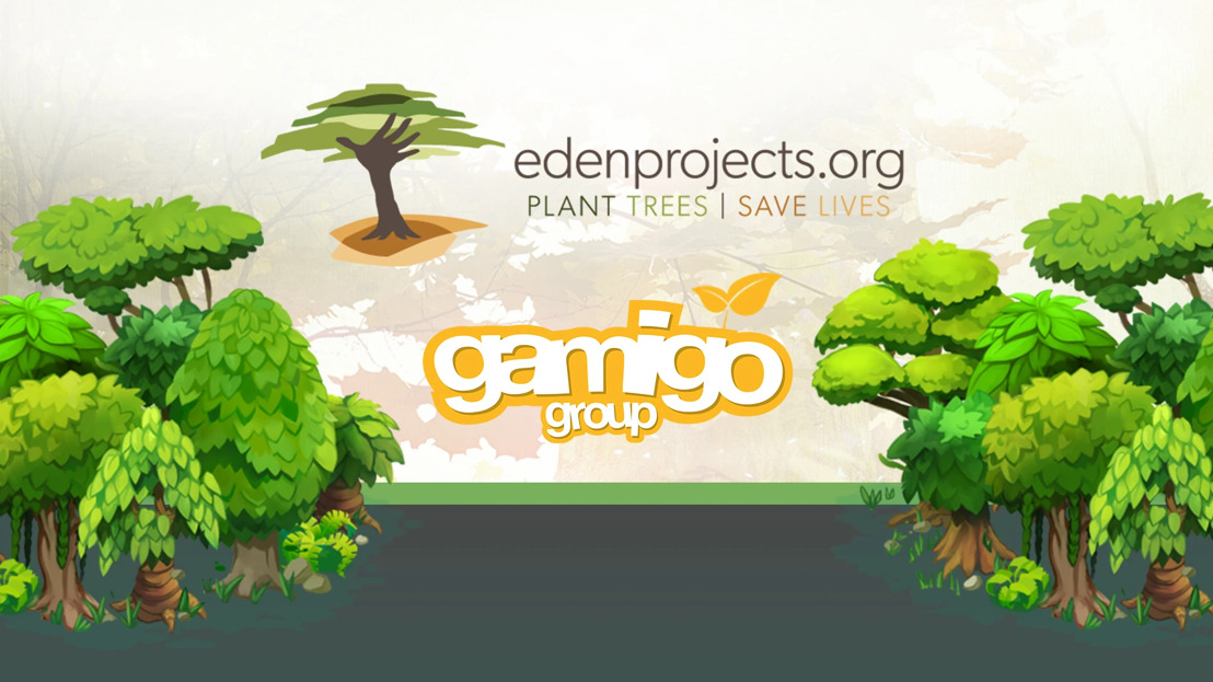 gamigo and Eden Reforestation Projects continue cooperation permanently