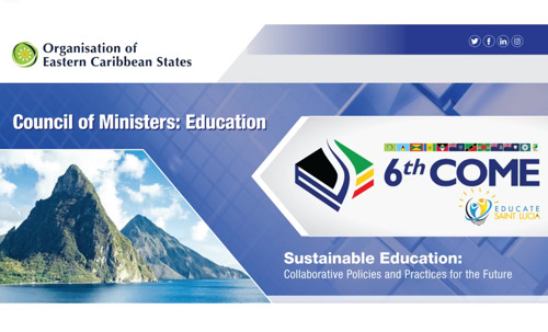 Saint Lucia to host OECS 6th Council of Ministers of Education Feb 4-5, 2021