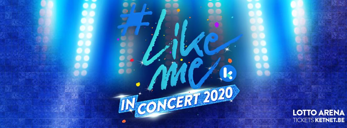 #LikeMe krijgt platina plaat en keert terug naar de Lotto Arena