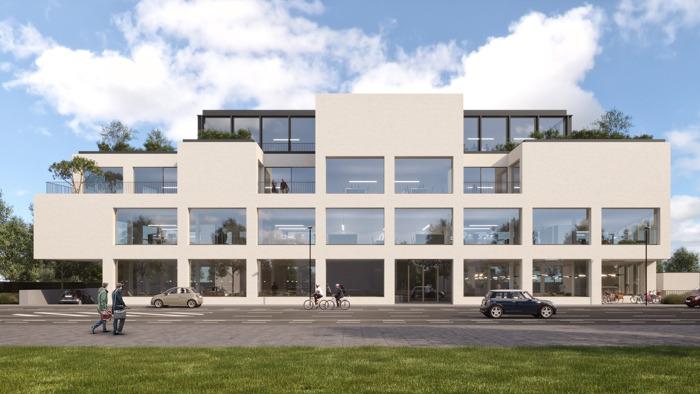 Liantis en GVO bouwen gloednieuw kantoorgebouw in Kortrijk