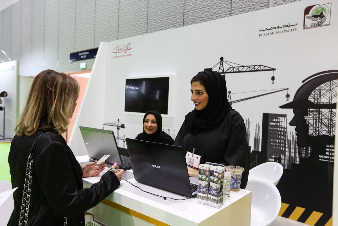 Dubai Municipality Building Dept at The Big 5 Heavy 2018