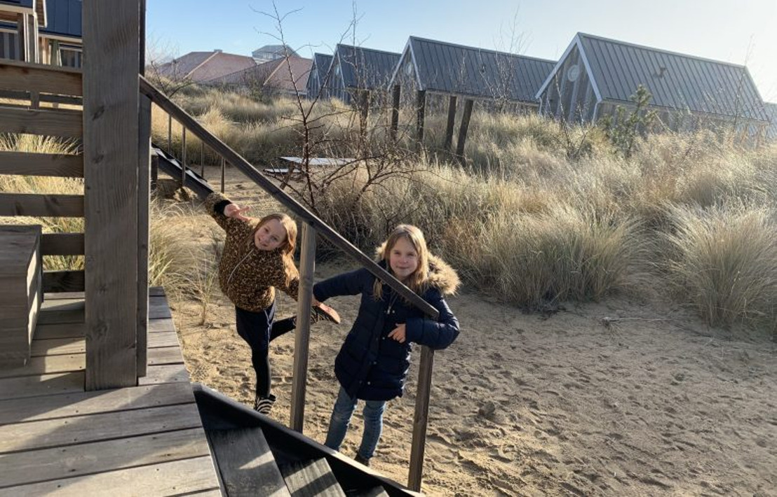 Marguerita en haar twee dochters ontdekken Roompot Beach Resort Nieuwvliet-Bad