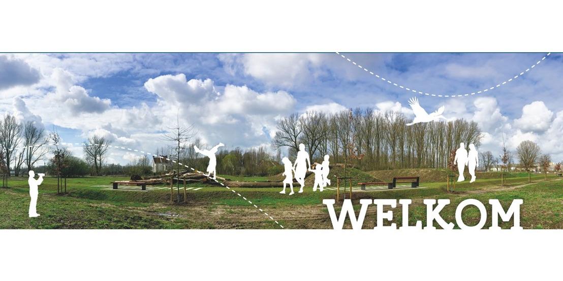 Opening Park Halfweg langs Watersportbaan