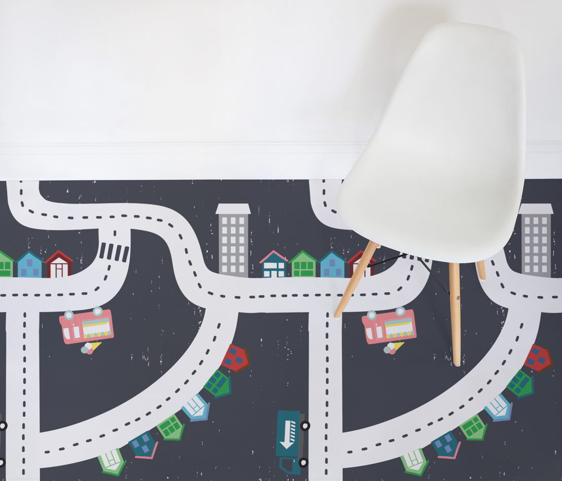 Fargo |   <br/>Kids Town Map Flooring