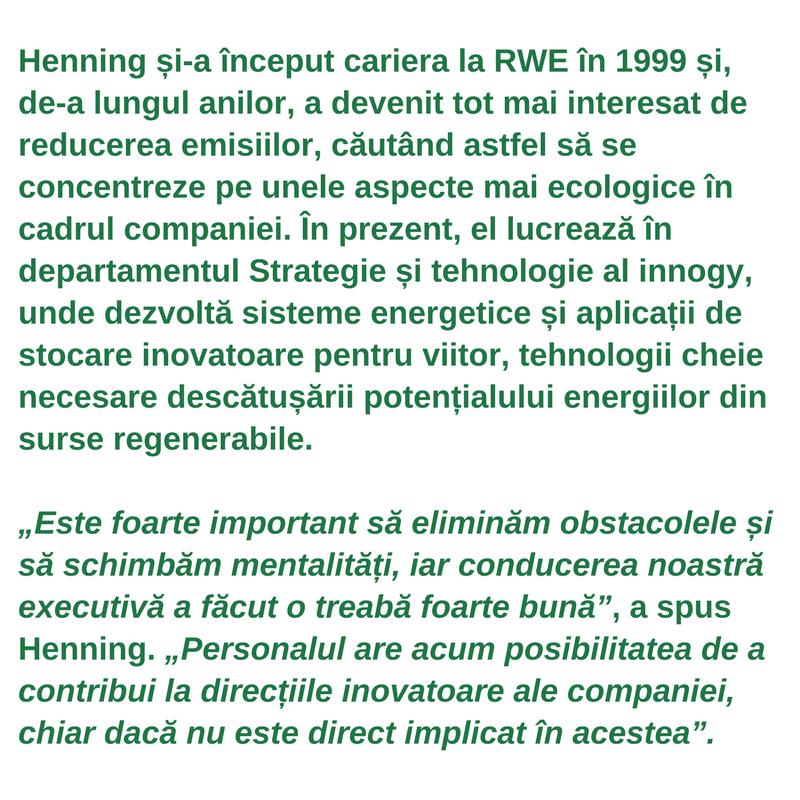 Profilul lucrătorului din sectoarele verzi -<br/>Henning Joswig