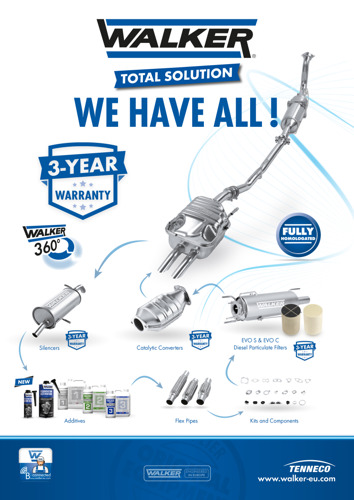 Walker® 'Has It All' with Comprehensive Clean Air Portfolio