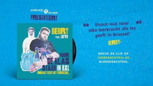 Berry en Lefto kiezen voor onderwijs in Brussel