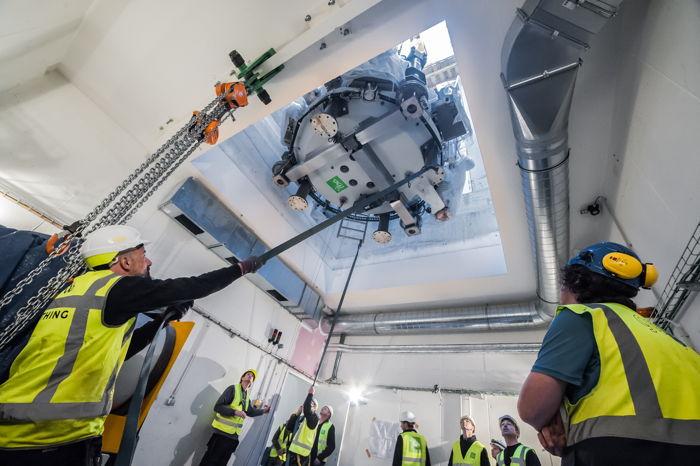 Preview: Mijlpaal in bouw eerste Belgische protoncentrum: plaatsing deeltjesversnellers