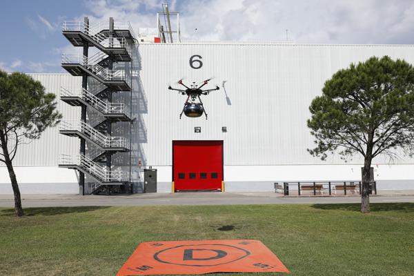 Preview: SEAT and Grupo Sesé link up via drone