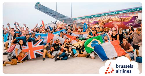 Brussels Airlines brengt meer dan 25.000 'People of Tomorrow' naar België