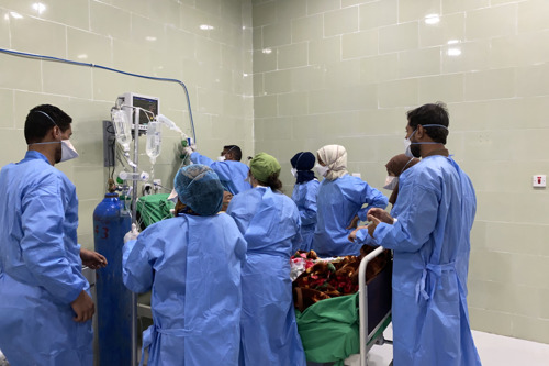 JEMEN: tweede golf overspoelt medische voorzieningen, Artsen zonder Grenzen roept internationale actoren op om de steun voor de COVID-19-respons te vergroten