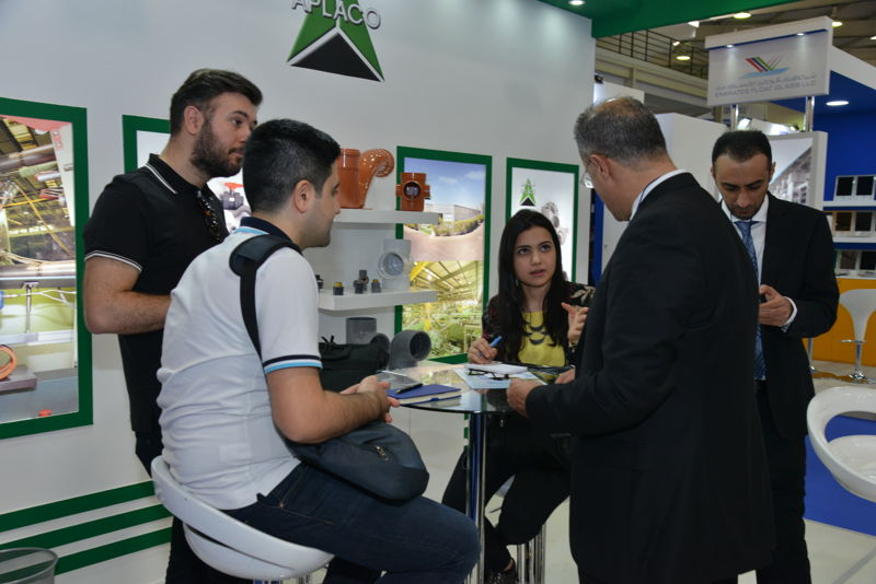 Exhibitors and visitors at The Big 5 Construct North Africa 2017