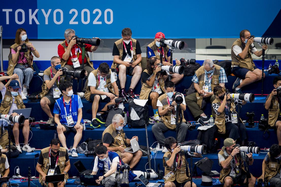 Le photographe sportif Jasper Jacobs immortalise les Jeux olympiques et paralympiques