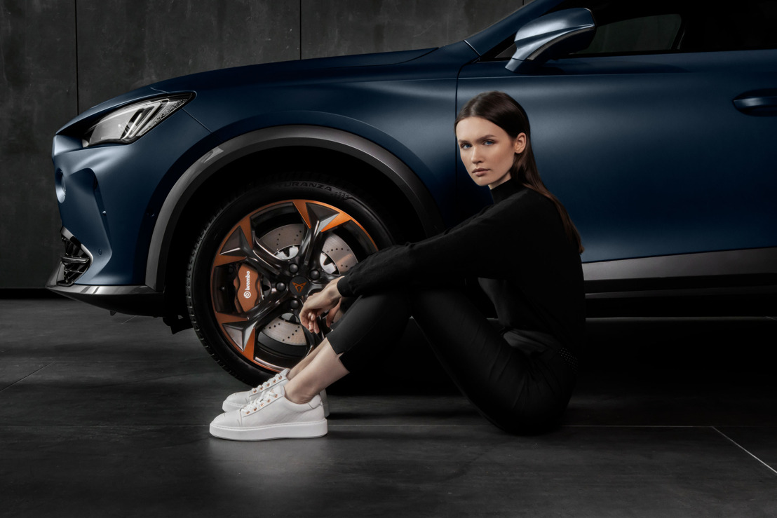 CUPRA and Mikakus launch an exclusive sneaker collection inspired by the CUPRA Formentor