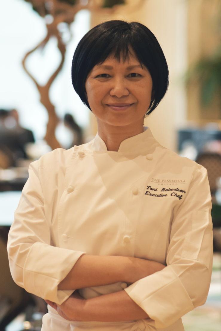 Chef ejecutiva Toni Robertson, The Peninsula Chicago