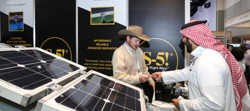INTERNATIONAL HEAVYWEIGHTS PAVE THE WAY TOWARDS SUSTAINABLE CITIES AT THE BIG 5 SOLAR