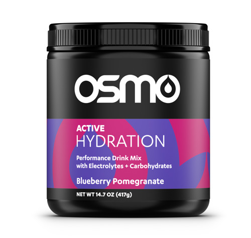 Preview: OSMO Nutrition Introduces Blueberry Pomegranate Active Hydration