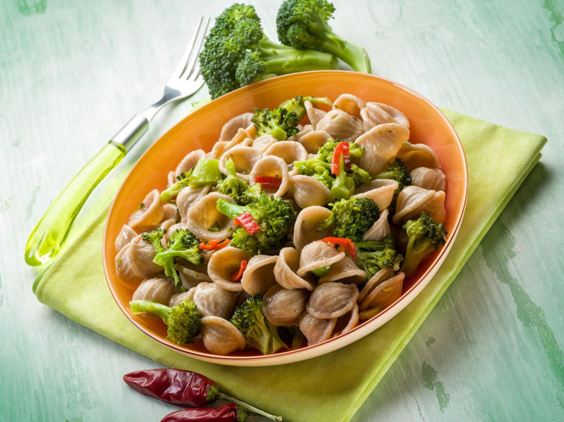 orecchiette integrali broccoli